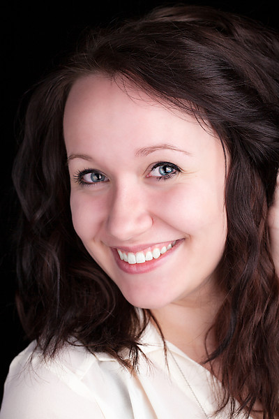 head shots UWSP theater major Maggie White