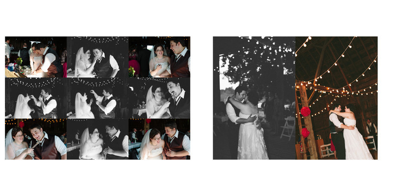 Willow Pond Bed and Breakfast Wisconsin Wedding cutting the cake
