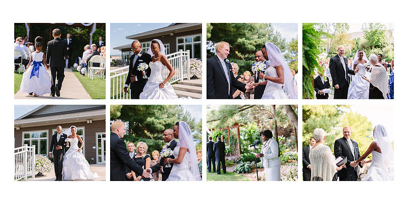 The Florian Gardens Outdoor Wedding  Eau Claire Wisconsin Wedding Photographer