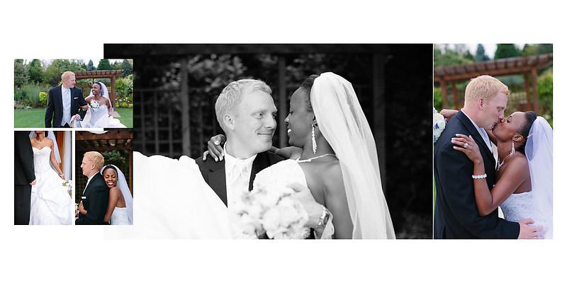 The Florian Gardens Outdoor Wedding  Eau Claire Wisconsin Wedding Photographer Bride and Groom