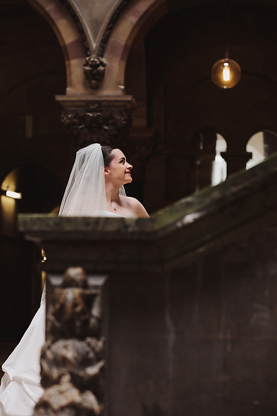 Irish Bride at Trinity College