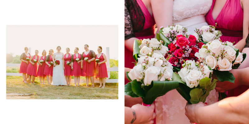 Willow Pond Bed and Breakfast Wisconsin Wedding Sunset images Photo