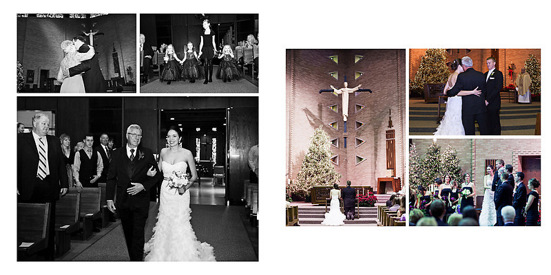 Traditional Catholic Wausua Wedding Wisconsin Wedding Photographer