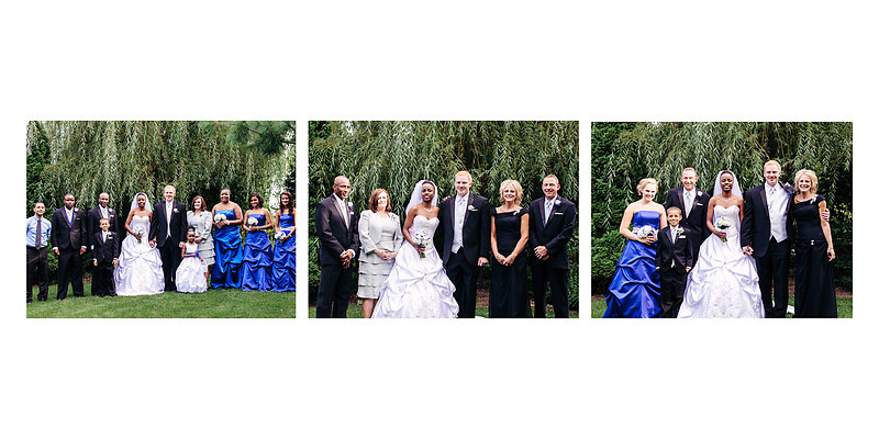 The Florian Gardens Outdoor Wedding  Eau Claire Wisconsin Wedding Photographer Family Photos