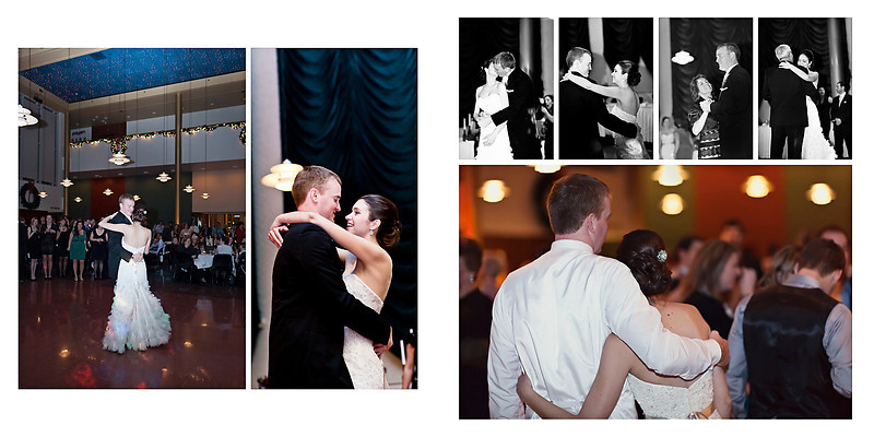 Grand Theater Wausau Wedding Photographer New Year wedding