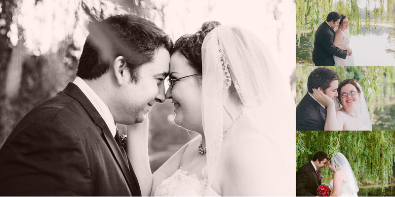 Willow Pond Bed and Breakfast Wisconsin Wedding Sepia Wedding  Photo Photos