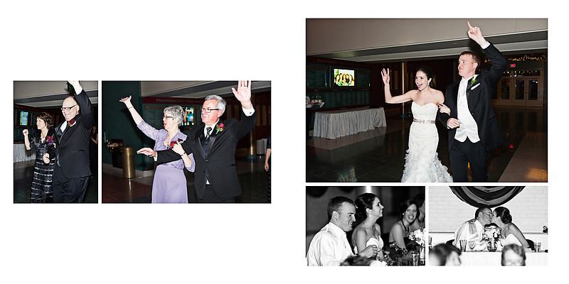 Grand Theater Wausau Wedding Photographer New Years Wedding