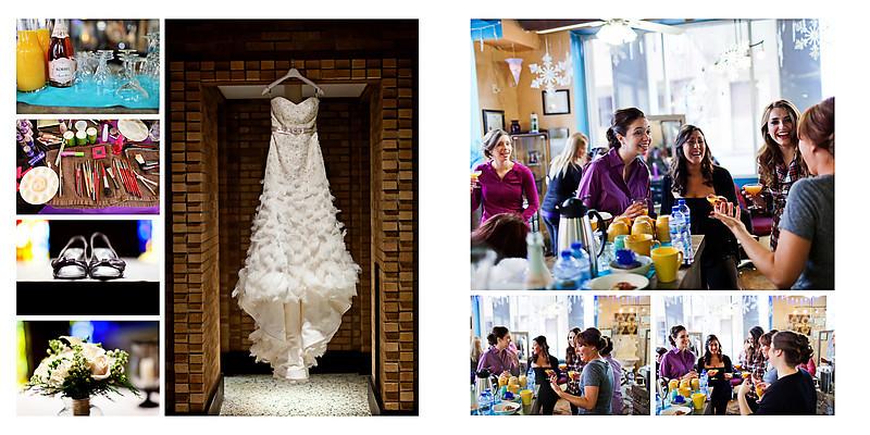 Wausau Winter Wedding Photographer