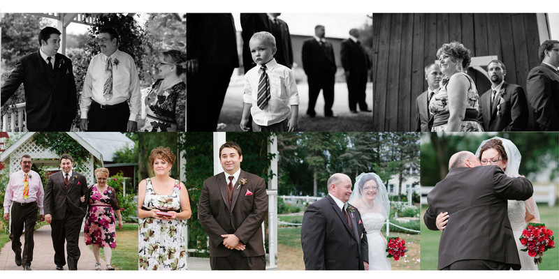 Willow Pond Bed and Breakfast Wisconsin Wedding Photo