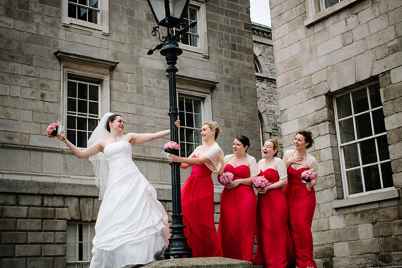 Trinity College Wedding Dublin Ireland